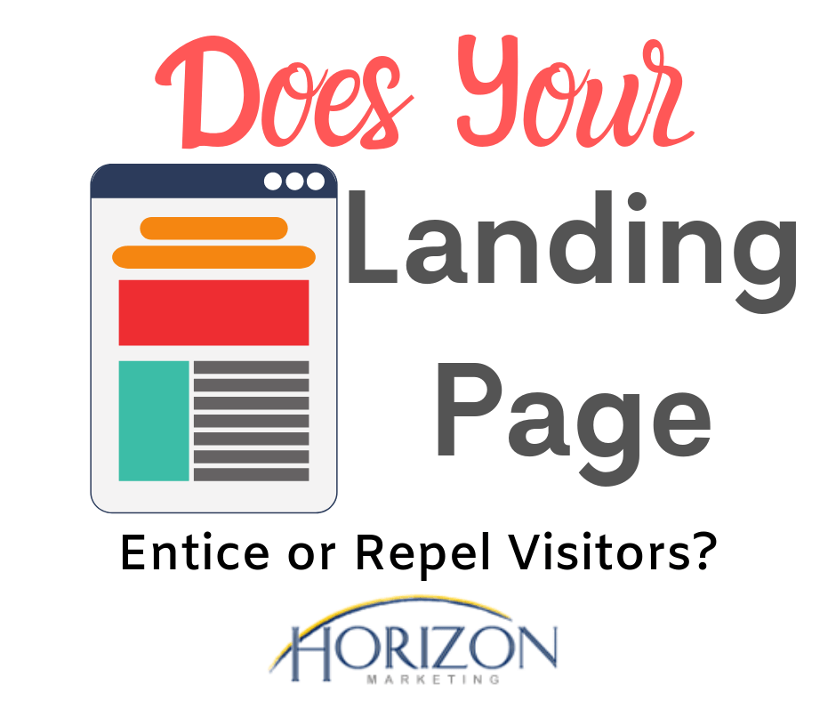 heading for landing page article