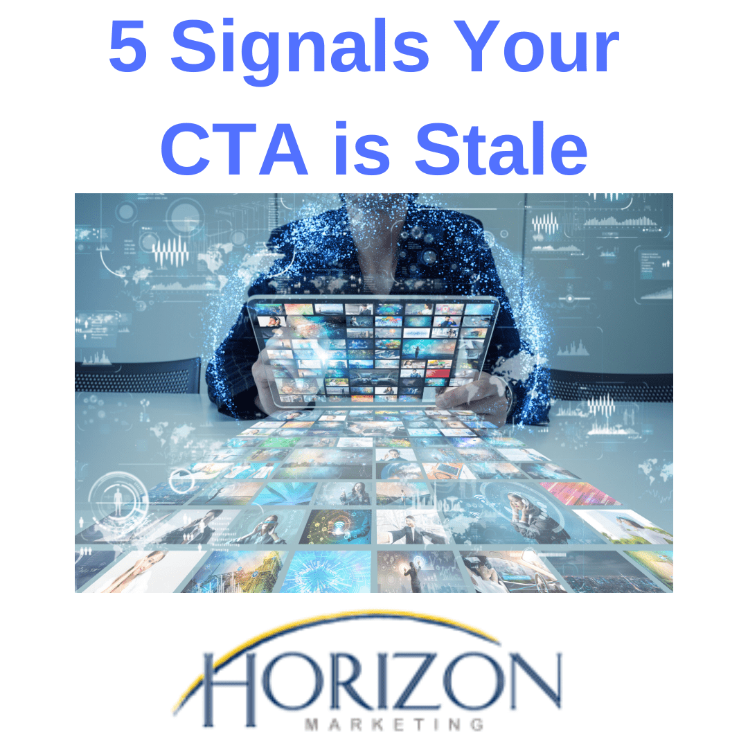 stale cta diminishes web traffic
