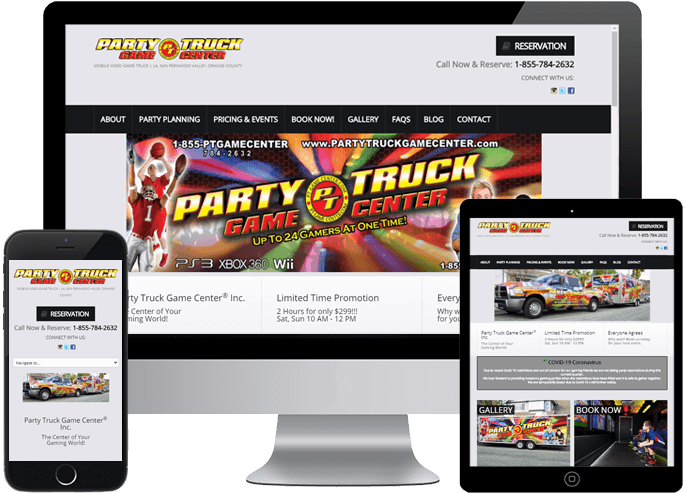 Party Truck Game Center