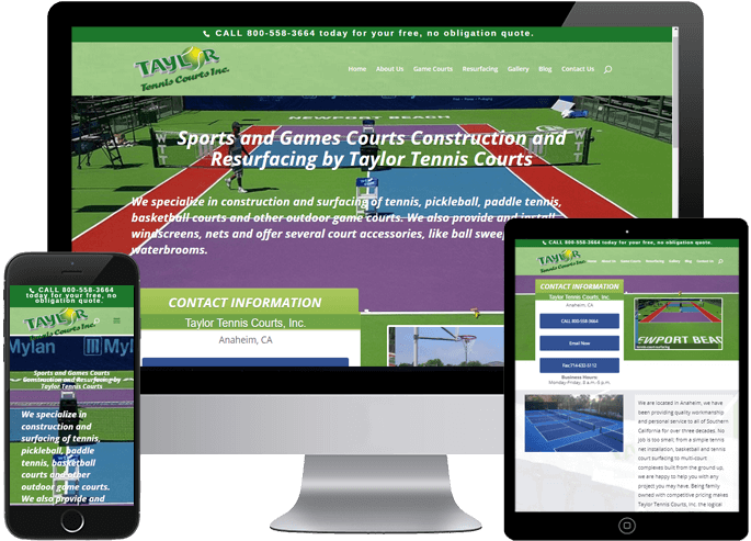 Taylor Tennis Courts